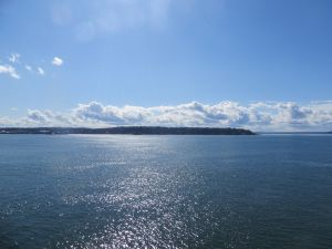 Looking over Puget Sound on the first day of Spring